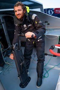 Photo du skipper Benjamin Dutreux (Vendée Globe 2020)