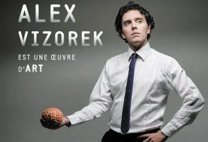 Alex Vizorek est une œuvre d'art, sur Prime Video