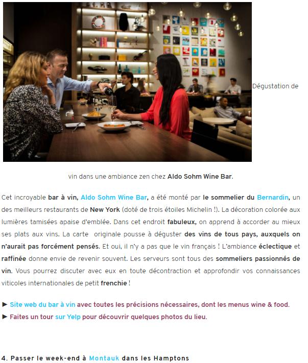Hello Paris New York : 5 activites originales a faire cet ete !